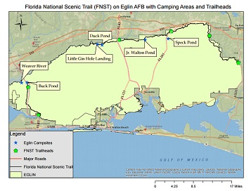 Hiking - Eglin Air Force Base - iSportsman